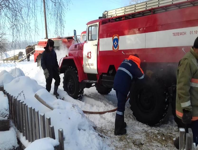 Пожар в Залесовском районе — МЧС России по Алтайскому краю