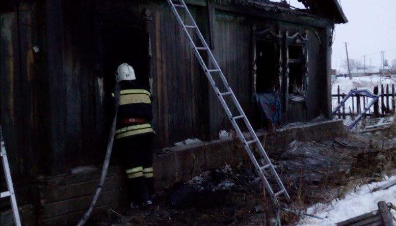 В Алтайском крае произошёл пожар с трагическими последствиями