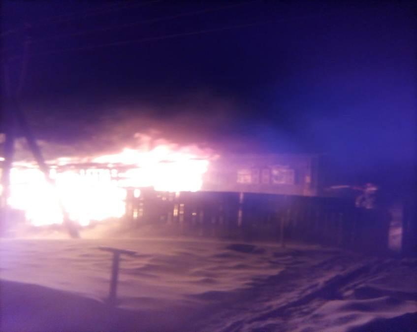 Пожар в Первомайском районе — МЧС России по Алтайскому краю
