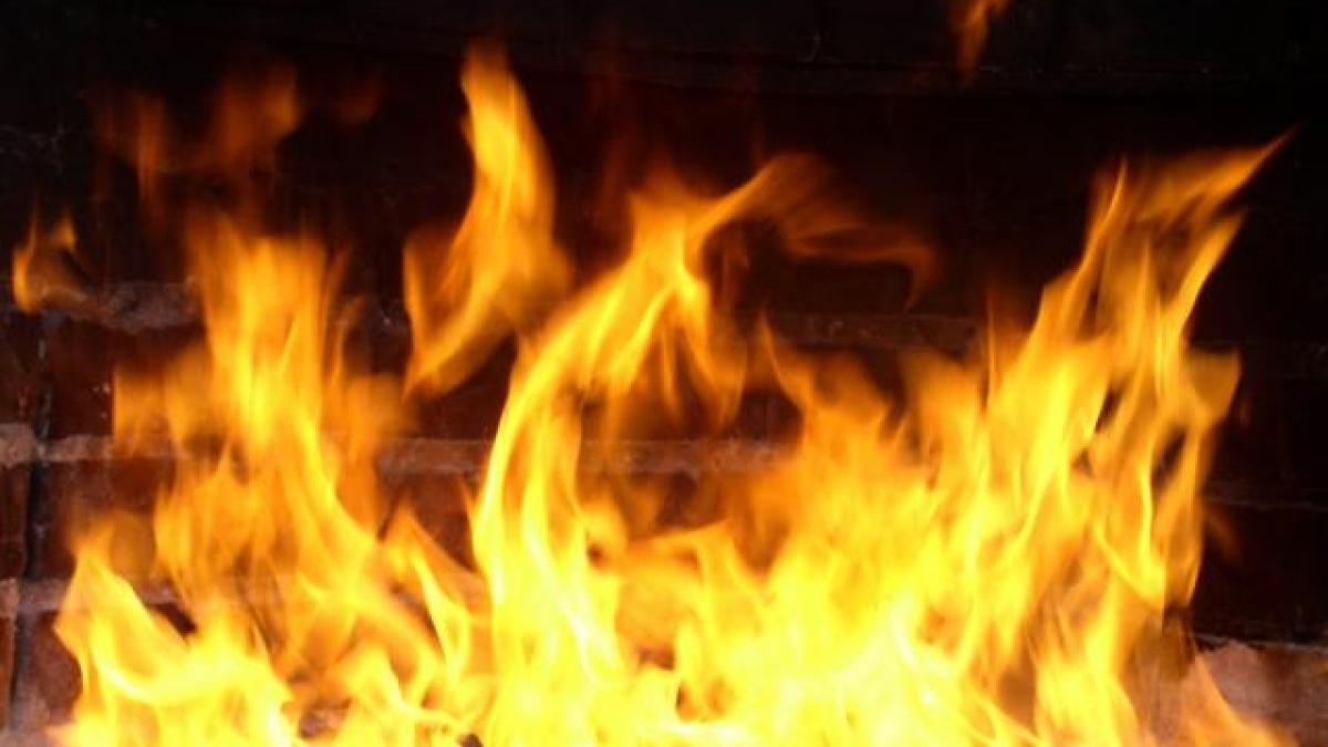 Пожар в Тальменском районе — МЧС России по Алтайскому краю